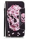 케이스 제품 Apple iPhone 6 iPhone 6 Plus 카드 홀더 지갑 스탠드 전체 바디 케이스 해골 하드 PU 가죽 용 iPhone 6s Plus iPhone 6s iPhone 6 Plus iPhone 6