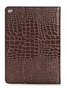 mode crocodile mince etui en cuir de haute qualite pour ipad smart cover pro avec le cas de motif alligator stand
