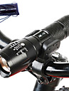 1000 lm LED Flashlights / Torch Cree T6 5 Mode A100 - Tactical / Zoomable / Waterproof