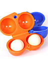 2 Egg Case Container Outdoor Camping Carrier Practical Egg Storage Box For (Randon Color)