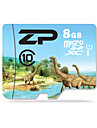 ZP 8GB TF cartao Micro SD cartao de memoria UHS-I U1 class10