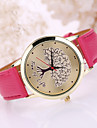 Women\'s Leather Band Life of Tree  Case Wrist Watch Cool Watches Unique Watches
