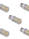5 pcs E14/G9/E26/E27 15 W 60 SMD 5730 1500 LM Warm White/Cool White Corn Bulbs AC 110/220 V