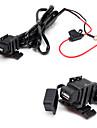 jtron водонепроницаемый автомобиля USB телефон / навигации автомобильное зарядное устройство - черный