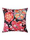 1 pcs Polyester Pillow With Insert, Floral Casual
