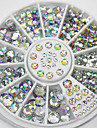 300 Rhinestones Nail Jewelry Other Decorations Fashion Lovely High Quality Daily