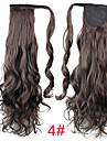 Clip In Ponytails Synthetic Hair Hair Piece Hair Extension Curly