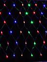 Cordoes de Luzes 96 LEDs Branco Quente Rosa Amarelo Azul Vermelho Recarregavel Impermeavel 100-240V