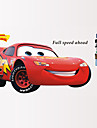 Cars 2 Lightning Mcqueen Wall Stickers Cartoon Movie Car Wall Decals