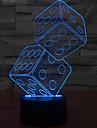anteresting 3d иллюзия трехмерного сито ночной свет светодиодные настольные лампы