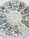 280pcs Rhinestones Classic Rhinestone Sparkle & Shine High Quality Daily Nail Art Design