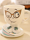Cartoon Expression Ceramic Mug