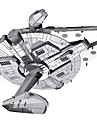 Millennium Falcon 3D пазлы Металлические пазлы Наборы для моделирования Космический корабль 3D Металл война Детские Взрослые Подарок