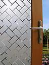 Geometrinen Nykyaikainen Ikkunakalvo, PVC/Vinyl materiaali ikkuna Decoration Ruokailuhuone Makuuhuone Office Kids Room Olohuone Bath Room