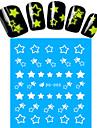 1 Autocollant d\'art de clou Bouts  pour ongles entiers Autocollants de transfert de l\'eau Bijoux pour onglesBande dessinee Adorable