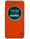 제품 에이수스 케이스 케이스 커버 윈도우 플립 풀 바디 케이스 한 색상 하드 천연 가죽 용 Asus Asus ZenFone Max ZC550KL Asus ZenFone Selfie ZD551KL