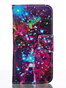 The Starry Sky Leather Wallet for Samsung Galaxy S4 S4 Mini S5 Mini S6 S7 Edge