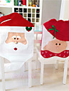 Chair Cover Floral/Botanicals Holiday Inspirational Textile Christmas Cartoon Christmas Novelty Halloween Party Christmas Decoration