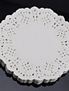 "6.5"" Lace Round 100Pcs Paper Doilies Cake Placemat Craft  Coasters Wedding Party Christmas Table Decoration Dia 16.5cm"