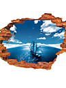 Landscape Wall Stickers 3D Wall Stickers Decorative Wall Stickers, Vinyl Home Decoration Wall Decal Wall Decoration
