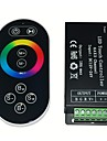 RF Remote Touch RGB Controller DC12-24V Max 18A
