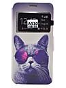 Capinha Para Samsung Galaxy Samsung Galaxy Capinhas Porta-Cartao Anti-poeira Antichoque Com Suporte Capa Protecao Completa Cachorro Macia