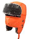 Chapka Chapeau en Fourrure Ski Chapeau Homme Femme Enfant Garder au chaud Snowboard Polyester Sports d\'hiver Hiver