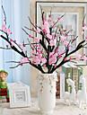 Artificial Flowers 1 Branch Simple Style Sakura Tabletop Flower