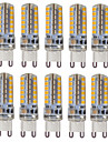 HKV® G9 3W 300-350 lm LED Bi-pin Lights  48 SMD 2835 Warm White Cold White Natural White AC 110/220V 10pcs
