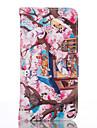 Capinha Para Samsung Galaxy Samsung Galaxy S7 Edge Porta-Cartao Carteira Com Suporte Capa Protecao Completa Gato Macia PU Leather para S7