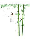 애니멀 / 보태니컬 / 카툰 벽 스티커 플레인 월스티커 데코레이티브 월 스티커 / 하이트 스티커,PVC 자료 물 세탁 가능 / 이동가능 홈 장식 벽 데칼