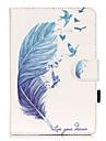 Coque Pour Apple Mini iPad 3/2/1 Porte Carte Avec Support Motif Coque Integrale Autre Flexible faux cuir pour iPad Mini 3/2/1 Apple