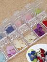 36 pcs Nail Jewelry Flower / Fashion Daily