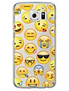 Emoji Tile Pattern Soft Ultra-thin TPU Back Cover For Samsung GalaxyS7 edge/S7/S6 edge/S6 edge plus/S6/S5/S4