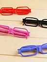 Stylo Stylo Stylos a bille Stylo, Plastique Noir / Bleu Couleurs d\'encre Pour Fournitures scolaires Fournitures de bureau Paquet