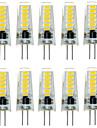 2W G4 Luminárias de LED  Duplo-Pin T 12 SMD 5733 200-300 lm Branco Quente Branco Frio 3000/6000 K Impermeável Decorativa DC 12 V