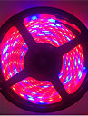 E14 Lampes Horticoles LED Tube 300 SMD 5050 1300LM lm Rouge Bleu K Impermeable Decorative DC 12 V