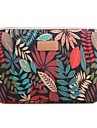 "13"" 14"" 15.6"" Colorful coleus Pattern Canvas Bag Computer Protective Sleeve Case for Macbook 13 /15 HP lenovo"