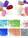 1 pcs Kynsien korut kiiltaa / Modieus Dagelijks Nail Art Design / PVC