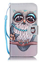 Funda Para Apple iPhone X iPhone 8 Funda iPhone 5 iPhone 6 iPhone 7 Soporte de Coche Cartera con Soporte Flip Disenos En Relieve Funda de