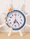 Clock Wall Clock Antique / Casual / Traditional Wood / Plastic Round