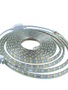 12M  220V Higt Bright LED Light Strip Flexible 5050 720smd Three Crystal Waterproof Light Bar Garden Lights with EU Power Plug