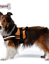 Dog Harness Reflective Breathable Solid Mesh Padded Fabric Nylon Mesh Black Orange Red
