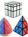 Rubik\'s Cube Pyraminx Pyramid Alienigeno Mirror Cube 3*3*3 Cubo Macio de Velocidade Cubos Magicos Nivel Profissional Velocidade Triangulo