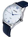 Men\'s Wrist Watch Quartz Leather Black / Blue / Brown Casual Watch Cool / Analog Classic Casual - Black Brown Blue
