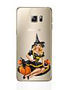 For Samsung Galaxy S7 Edge S6 Edge Plus Halloween Ultra-thin TPU Back Cover