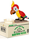 Smart Saving Money Box Funny Animals Parrot Bird Automatic Electric Stealing Stole Coin Piggy Bank Children Gift Money Boxes