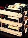 Casiers a Bouteilles Bois,32.5*26*29CM Du vin Accessoires