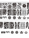 1 Stamping Plate Nail Stamping Template Daily Fashion High Quality