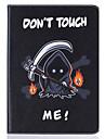 용 지갑 / 카드 홀더 / 스탠드 / 플립 / 엠보싱 텍스쳐 / 패턴 케이스 풀 바디 케이스 3D카툰 캐릭터 하드 인조 가죽 SamsungTab S2 9.7 / Tab S2 8.0 / Tab E 9.6 / Tab E 8.0 / Tab A 9.7